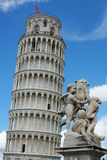 Leaning tower of Pisa, Italy.  Stock Image