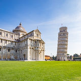 The leaning tower of Pisa, Italy. Stock Photos