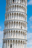 The Leaning Tower of Pisa, Italy. On e of the most famous landmarks of the world Royalty Free Stock Photography