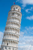 The Leaning Tower of Pisa, Italy. On e of the most famous landmarks of the world Stock Photos