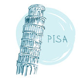 The Leaning Tower, Pisa, Italy, Europe Stock Photography