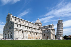 Leaning Tower of Pisa Italy Stock Image