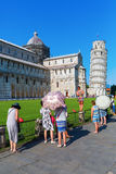 The Leaning Tower in Pisa, Italy Royalty Free Stock Image