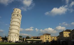 The Leaning Tower of Pisa, Italy Stock Photography