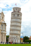 Leaning tower of Pisa, Italy. Royalty Free Stock Photos