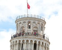 Leaning tower of Pisa, Italy. Royalty Free Stock Photography