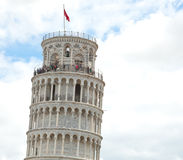 Leaning tower of Pisa, Italy. Royalty Free Stock Photo