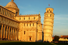 The Leaning Tower of Pisa in Italy Stock Photography