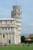 Leaning tower in Pisa in Italy Royalty Free Stock Photo