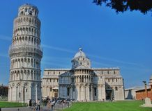 Leaning Tower of Pisa Italy Stock Images