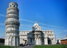 Leaning Tower of Pisa Italy Royalty Free Stock Photography