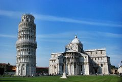 Leaning Tower of Pisa Italy Stock Photography