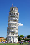 Leaning Tower of Pisa in Italy Royalty Free Stock Images