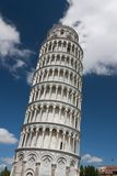 Leaning tower of Pisa, Italy. A UNESCO World Heritage Site and one of the most recognized buildings in the world, the Leaning Tower of Pisa (torre Royalty Free Stock Image