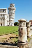 Leaning tower of Pisa, Italy. View of Leaning tower of Pisa, Italy Stock Images