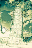 Leaning tower, Pisa, Italy Royalty Free Stock Photos
