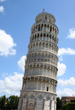 Leaning Tower of Pisa landmark in Italy Stock Photography