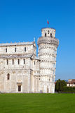 The Leaning Tower of Pisa.Landscape in a sunny day Stock Photo