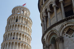 Leaning Tower of Pisa Royalty Free Stock Photos