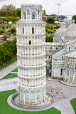 Leaning Tower of Pisa in miniature Royalty Free Stock Photography