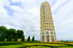 Leaning Tower of Pisa model Royalty Free Stock Images