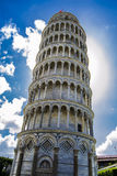 The Leaning Tower Of Pisa. This is a photo of the famous Leaning Tower Of Pisa Royalty Free Stock Photography