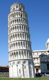 Leaning tower of Pisa in Piazza dei Miracoli in Italy 1 Royalty Free Stock Images