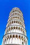 Leaning Tower of Pisa in Pisa, Italy. The Leaning Tower of Pisa in Pisa, Italy Stock Photo