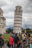 Leaning Tower of Pisa Stock Image