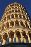 The Leaning Tower of Pisa / the Tower of Pisa. The Tower of Pisa is the campanile, or freestanding bell tower, of the cathedral of the Italian city of Pisa Stock Photos