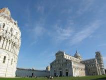Leaning Tower Pisa Tuscany stock photo
