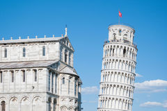 Leaning tower of Pisa. Stock Photos