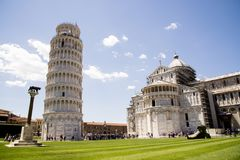 Leaning Tower of Pisa - Pisa - Tuscany -  Italy Stock Image