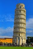 Leaning tower of Pisa. Tuscany, Italy royalty free stock photo