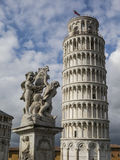 Leaning Tower of Pisa in Tuscany, Italy. Leaning Tower of Pisa in Tuscany, a Unesco World Heritage Site and one of the most recognized and famous buildings in Royalty Free Stock Photos