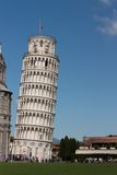 Leaning tower of Pisa. A UNESCO World Heritage Site and one of the most recognized buildings in the world, the Leaning Tower of Pisa (torre stock images