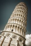Leaning tower of Pisa vintage style, Tuscany Italy. Leaning tower of Pisa vintage style, Tuscany, Italy Stock Photo