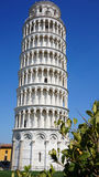 The Leaning Tower of Pisa, a wonderful medieval monument, one of the most famous landmark in Italy Stock Image