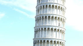Leaning Tower in the Square of Miracle stock footage