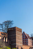 The Leaning Tower in Torun Stock Images