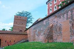 Leaning Tower of Torun, Poland. Leaning Tower (circa XIV c.) of Torun (former Thorn) town, Poland. One of the most characteristic sites in the Old Town. UNESCO Royalty Free Stock Photo
