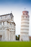 Leaning Towert in Pisa, Italy Royalty Free Stock Photo