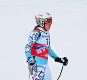 Leanne Smith sur la coupe du monde alpestre de ski de FIS 2011/201 Images libres de droits