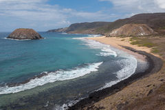 Leao Beach Fernando de Noronha Island Royaltyfria Bilder