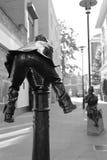 Leapfrog Bollard Statue Stock Image