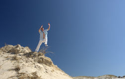 Leaping Man Stock Images