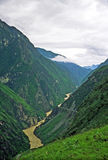 Leaping tiger gorge, yunnan, china Stock Photography