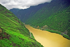Leaping tiger gorge, yunnan Stock Photo