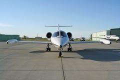 lear的喷气机 库存照片