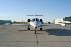 Lear Jet stock photos